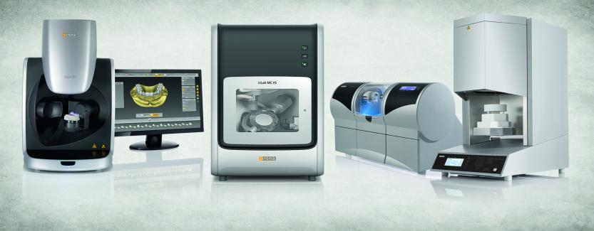 Sirona Digital work flow: Complete digital system to mill any porcelain restoration and surgical guide